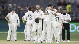 Australia vs New Zealand, 1st Test, Day 4, Perth.(AP)