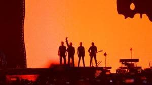 U2 perform their first-ever concert in India.(Varinder Chawla)