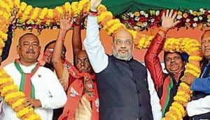 Work on sky-high Ram temple in 4 months: Amit Shah