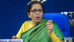Nirmala Sitharaman said Sonia Gandhi's remarks on the government were irresponsible and motivated.(PTI)