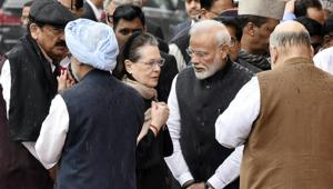 Sonia Gandhi returned to the top post of the Congress in August after her son, Rahul Gandhi stood firm in his decision to quit the post in the wake of the Congress' debacle in the general elections.(Sanjeev Verma/HT PHOTO)