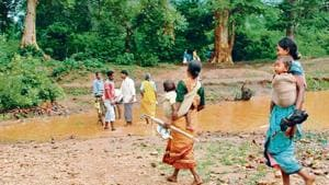 The need for an FSI survey arose after a bench led by Justice Arun Mishra on February 13 ordered eviction of forest dwellers whose claims had been rejected. (HT File)