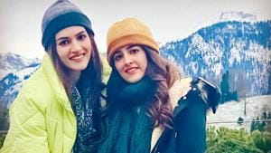 Kriti Sanon's sister Nupur Sanon recently shared screen space with Akshay Kumar in music video, Filhall.