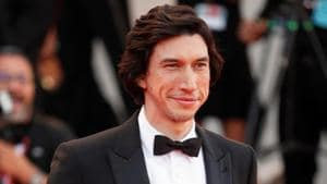 Actor Adam Driver arrives for the Venice Film Festival screening of Marriage Story.(REUTERS)