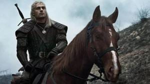 The Witcher stars Henry Cavill in the lead role.