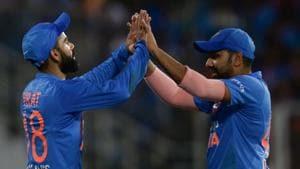 File image of Virat Kohli and Rohit Sharma.(AFP)