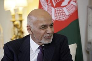 Preliminary results of Afghanistan presidential election show President Ashraf Ghani is on course for a second term(AP)