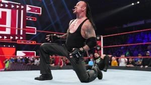 A file photo of WWE superstar The Undertaker.(WWE)