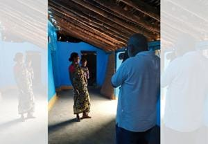 Mumbai-based documentary photographer Sudharak Olwe was awarded Padma Shri in 2016 for his social work