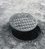 The city has nearly 2,000 cast iron manhole covers bearing an impression of Chandigarh map, which were designed by French architect Le Corbusier(HT PHOTO)