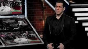 Salman Khan listens to participants on Bigg Boss 13.(Twitter)