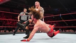 A file photo of Randy Orton (L) and AJ Styles.(WWE)