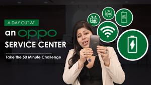 Take the 50-min Service Challenge at OPPO Service Center!