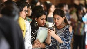 Most of these career options demand students to qualify through entrance examinations. (Representational image)(HT file)