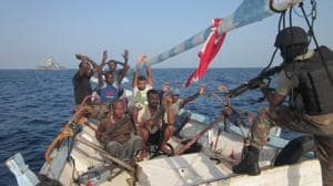 What recourse does India and the international community have against non-State actors such as the pirates stalking the West African shores?(Hindustan Times)