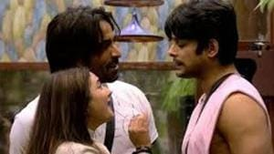 Bigg Boss 13: Sidharth Shukla often locked horns with Rashami Desai, with Arhaan Khan often intervening.