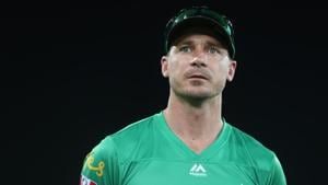 Dale Steyn of the Stars looks on after the Big Bash League Match between the Brisbane Heat and the Melbourne Stars at Metricon Stadium on December 20, 2019 in Gold Coast, Australia.(Getty Images)