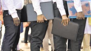 DSSSB Recruitment 2020(Sanchit Khanna/HT PHOTO)
