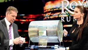 WWE Chairman Vince McMahon with Stephanie McMahon.(WWE)