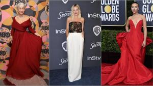 Golden Globes 2020: Priyanka Chopra, Scarlett Johansson, Brad Pitt, Jennifer Lopez and others we spotted at the 77th Golden Globes red carpet and after-party.(Reuters)