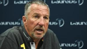 Ian Botham had his say on four-day Test matches.(Getty Images for Laureus)