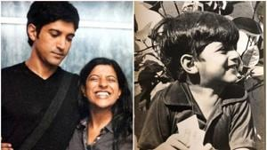 Zoya Akhtar wished her younger brother Farhan Akhtar with a cute Instagram post.
