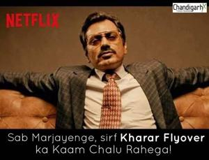 Among the viral memes are those depicting actor Nawazuddin Siddiqui from his Netflix web series, Sacred Games(HT PHOTO)