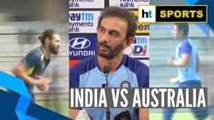 Watch: India, Australia prepare for 3-match ODI series