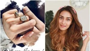 Erica Fernandes has put up an Instagram post declaring that she is in love but not engaged.
