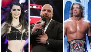 Triple H talks about Edge and Paige's return to wrestling.(WWE)