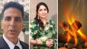 Lohri 2020: A number of Bollywood stars wished fans on the festival.