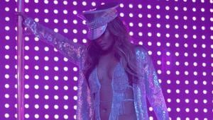 This image released by STXfilms shows Jennifer Lopez, in a scene from Hustlers. Though Lopez was nominated for a Golden Globe and other awards this year, and had received the best reviews of her career for her role as a New York stripper, she missed out on an Oscar nomination on Monday.(AP)