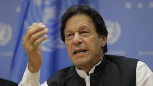India will invite Pakistan Prime Minister Imran Khan to the annual meeting of the council of heads of government of the Shanghai Cooperation Organisation (SCO) it will host this year.(AP Photo)