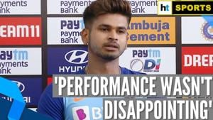 'Performance wasn't disappointing': Shreyas Iyer on 1st ODI loss against Aus