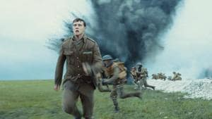 1917 movie review: George MacKay in a still from director Sam Mendes' new film, making movie magic.