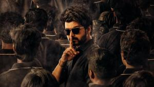 Master second look: Vijay requests silence as he's seen shushing in new poster