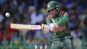 File photo of Bangladeshi batsman Mushfiqur Rahim.(AP)