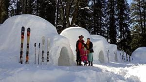 Igloo stay in Himachal Pradesh's Manali attracts tourists and  locals in hordes