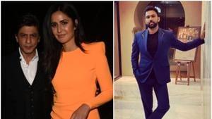 Katrina Kaif and Shah Rukh Khan attended Ali Abbas Zafar's birthday bash.(Instagram)