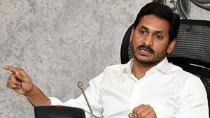 The Andhra Pradesh government advanced its state cabinet meeting to Saturday to approve the report of the ministerial committee constituted to work out the roadmap for the shifting of the capital city.(ANI PHOTO.)