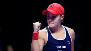 Ash Barty eyes home party as Serena continues chase