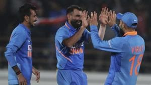 IND vs AUS Highlights: Dhawan, Shami guide India to series-levelling win