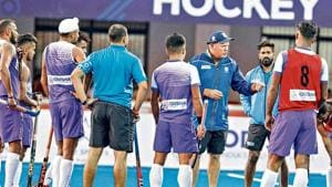 India chief coach Graham Reid (right) has warned his wards to be wary of the speedy Dutch players when they meet in their Pro League match at the Kalinga Stadium in Bhubaneswar on Saturday(HI Photo)
