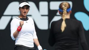 Sania Mirza wins Hobart International doubles title after returning from maternity break