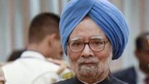 """Ahluwalia ends by revealing, """"I have often urged Dr Manmohan Singh to write his memoirs but have had no luck so far."""" The former PM is waiting for history's verdict, confident it will be kinder than that of his contemporaries(PTI)"""