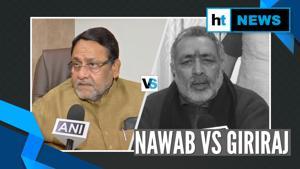 Nawab Malik vs Giriraj Singh on RSS chief's '2 child policy' remark