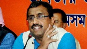 BJP leader Ram Madhav on Saturday said even Austria had amended its law to grant citizenship to Jews.(PTI File Photo)