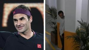 Australian Open 2020: 20-time Grand Slam Champion Roger Federer shows skills at 'hide-and-seek' - Watch video
