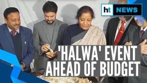 Watch: FM Nirmala Sitharaman at 'halwa ceremony' as Budget printing begins