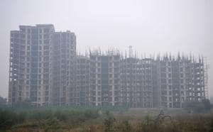 On October 9, 2019, the Noida authority had cancelled the allotment of housing land to Unitech Group.(Sunil Ghosh / Hindustan Times)